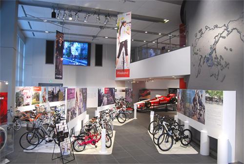 ブリヂストンTODAYで「サイクリング ライフ展」を開催