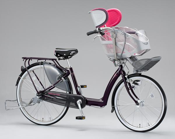 ブリヂストンサイクル 3人乗り対応自転車をモデルチェンジ
