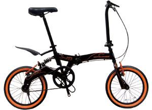 DOPPELGANGER 16インチ折りたたみ自転車発売中