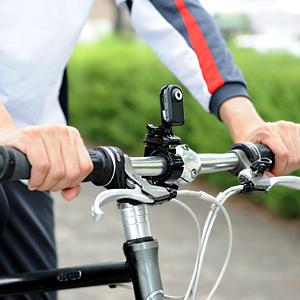 サンワサプライ 自転車に装着できる小型ビデオカメラ発売