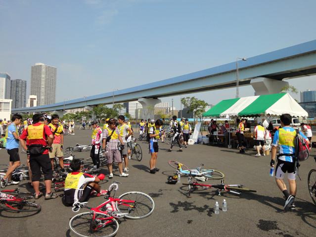 イベントレポート:東京シティーサイクリング(ボランティア)