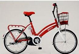 イオン 「i-MiEV」デザインの電動アシスト自転車発売