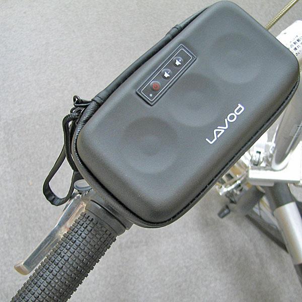 iPhoneを収納できる自転車用スピーカー発売