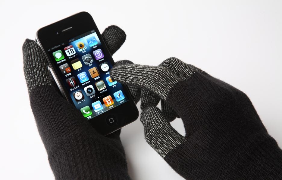Picnic つけたままiPhoneが操作できる手袋発売