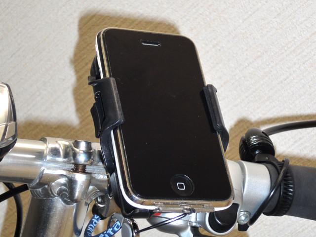 製品レビュー:MINOURA スマートフォンホルダ「iH-100」
