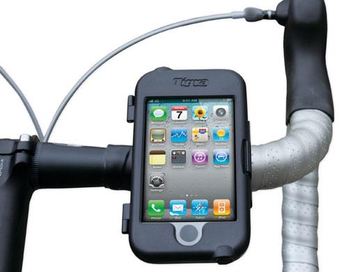 Tigra iPhone/iPod touch用バイクマウントケース発売