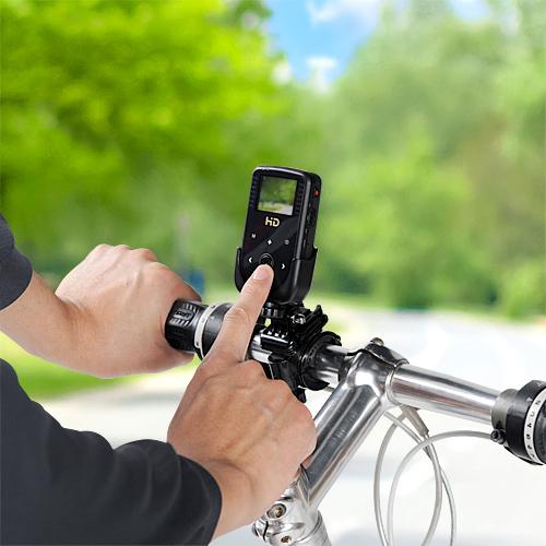 サンワサプライ 液晶モニター付き自転車ミニDVカメラ発売
