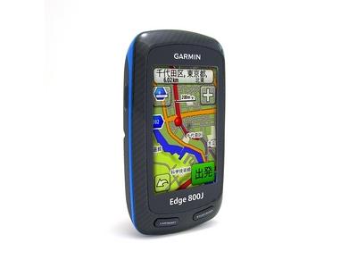 ガーミン タッチパネル式のGPSサイコン「Edge800J」発売