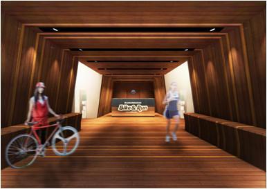 「MARUNOUCHI Bike&Run」オープン