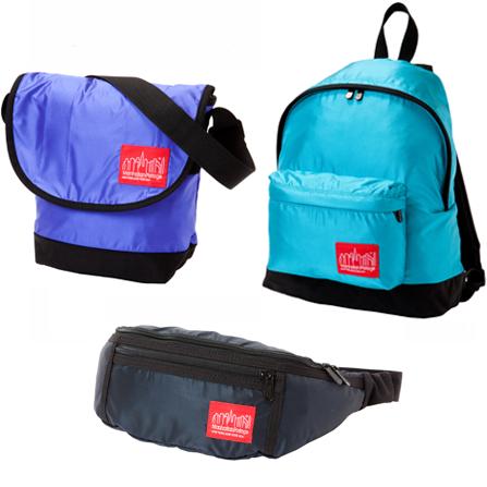 マンハッタンポーテージ リップストップナイロンを使用したバッグ発売