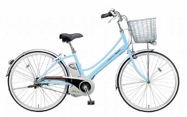 パナソニック サイクルテック 軽快な電動アシスト自転車発売