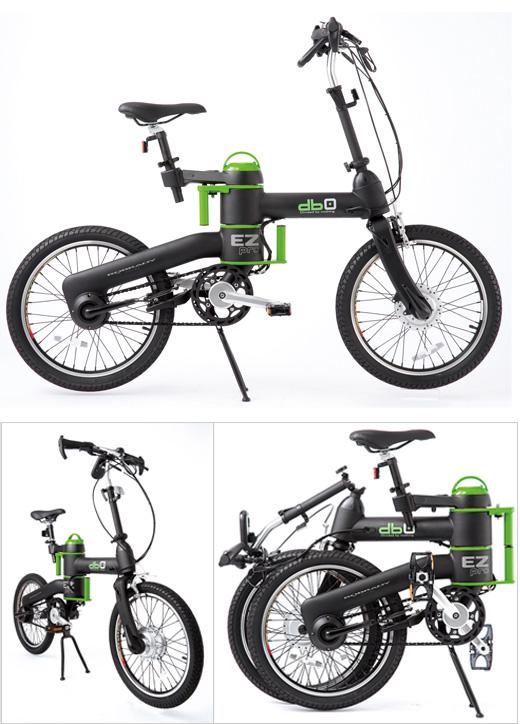 ユニオート 折りたたみ式電動アシスト自転車「db0」発売
