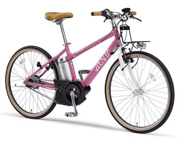 ヤマハ 残りアシスト走行可能距離も表示できる電動アシスト自転車