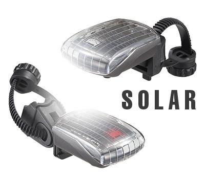 CATEYE 太陽電池で充電する自動発光オートセーフティライト発売